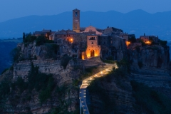 Civita di Bagnoregio - Blue Hour -
